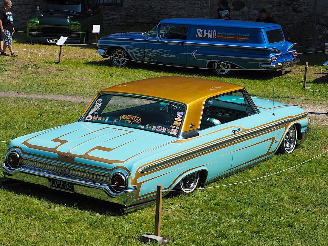 1962 Ford Galaxie 500XL custom. Tekijä: Kai Lappalainen, lisenssi: CC-BY-40.