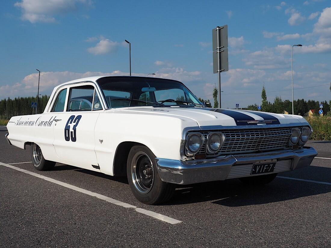 "1963 Chevrolet Bel Air ""American Oswald"". Tekijä: Kai Lappalainen. Lisenssi: CC-BY-40."