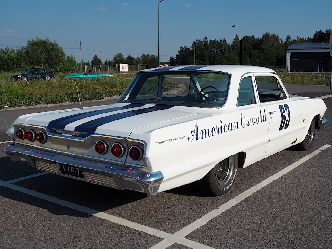 American Oswald - 1963 Chevrolet Bel Air 2d Sedan. Tekijä: Kai Lappalainen. Lisenssi: CC-BY-40.