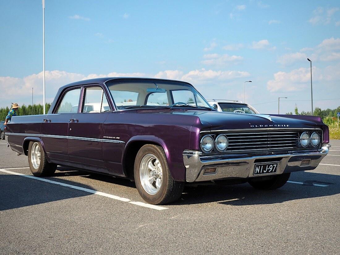 1963 Oldsmobile Dynamic 88 4d sedan. Tekijä: Kai Lappalainen. Lisenssi: CC-BY-40.