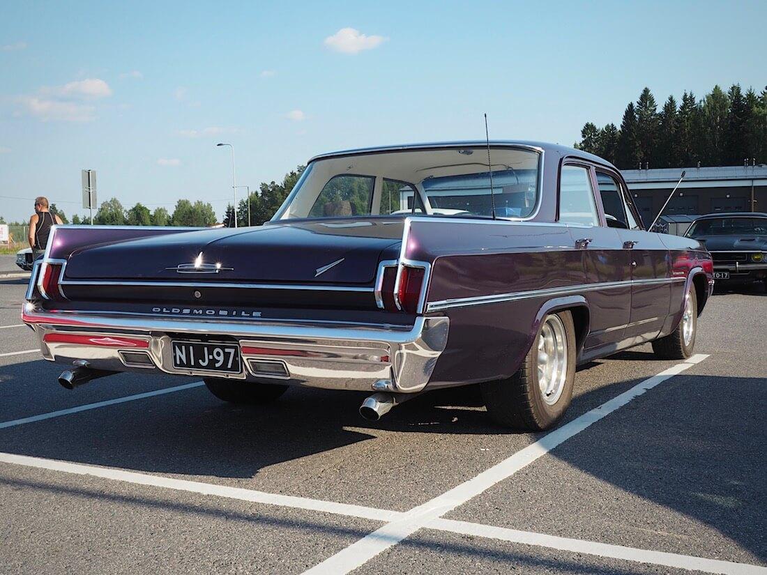 1963 Oldsmobile Dynamic 88 4d Hardtop. Tekijä: Kai Lappalainen. Lisenssi: CC-BY-40.