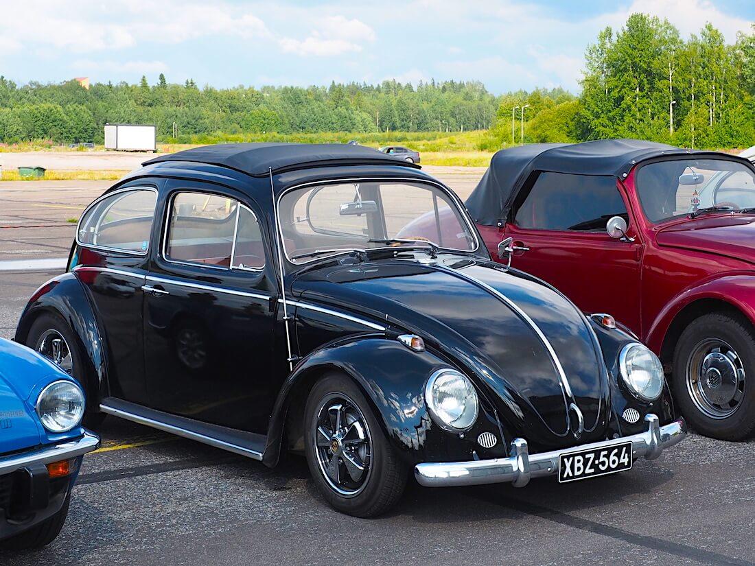 1963 VW1200 ragtop Porschen Puchs vanteilla. Tekijä: Kai Lappalainen, lisenssi: CC-BY-40.