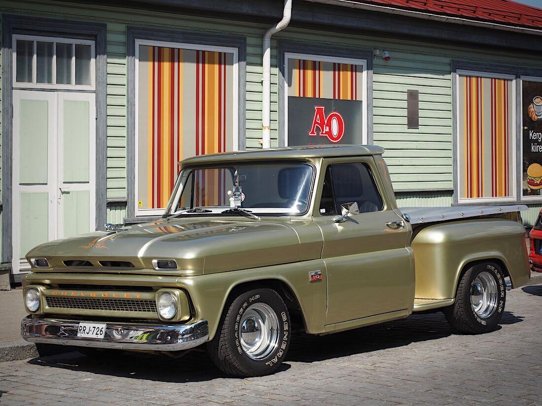 1966 Chevrolet C10 Stepside. Tekijä: Kai Lappalainen, lisenssi: CC-BY-40.