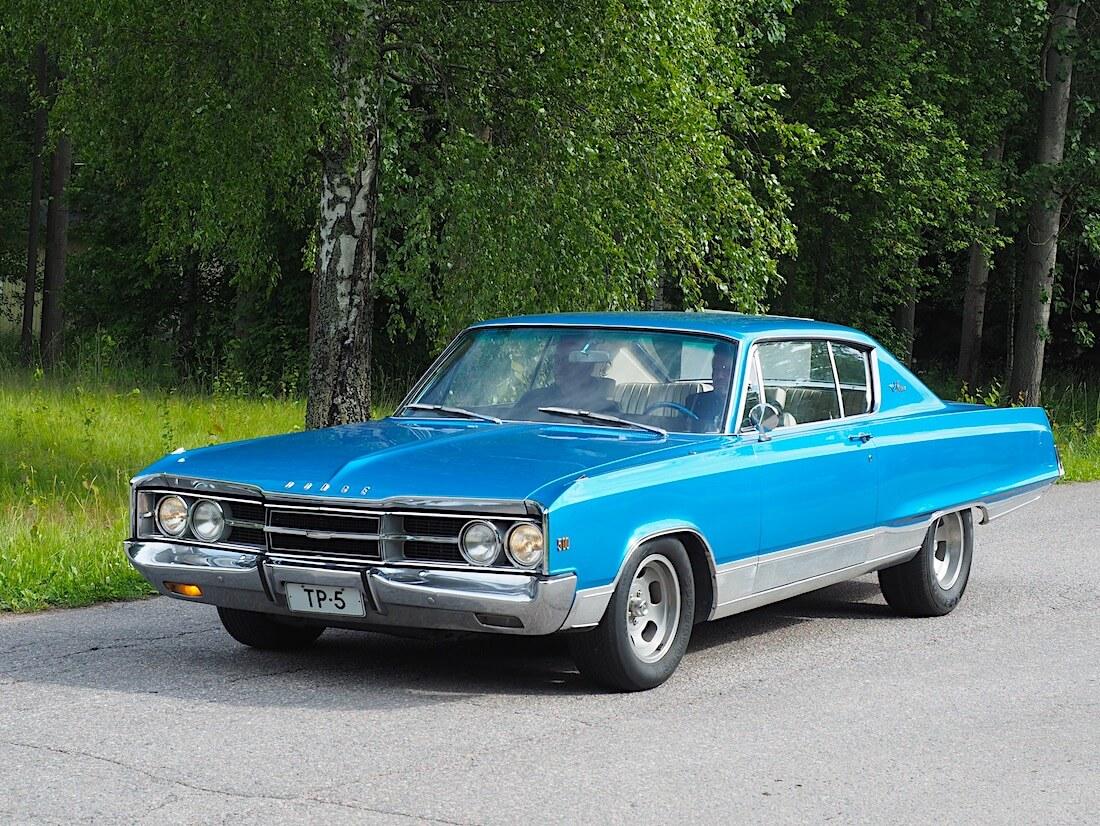 1967 Dodge Monaco 500 2d HT 500cid V8-moottorilla. Tekijä: Kai Lappalainen, lisenssi: CC-BY-40.