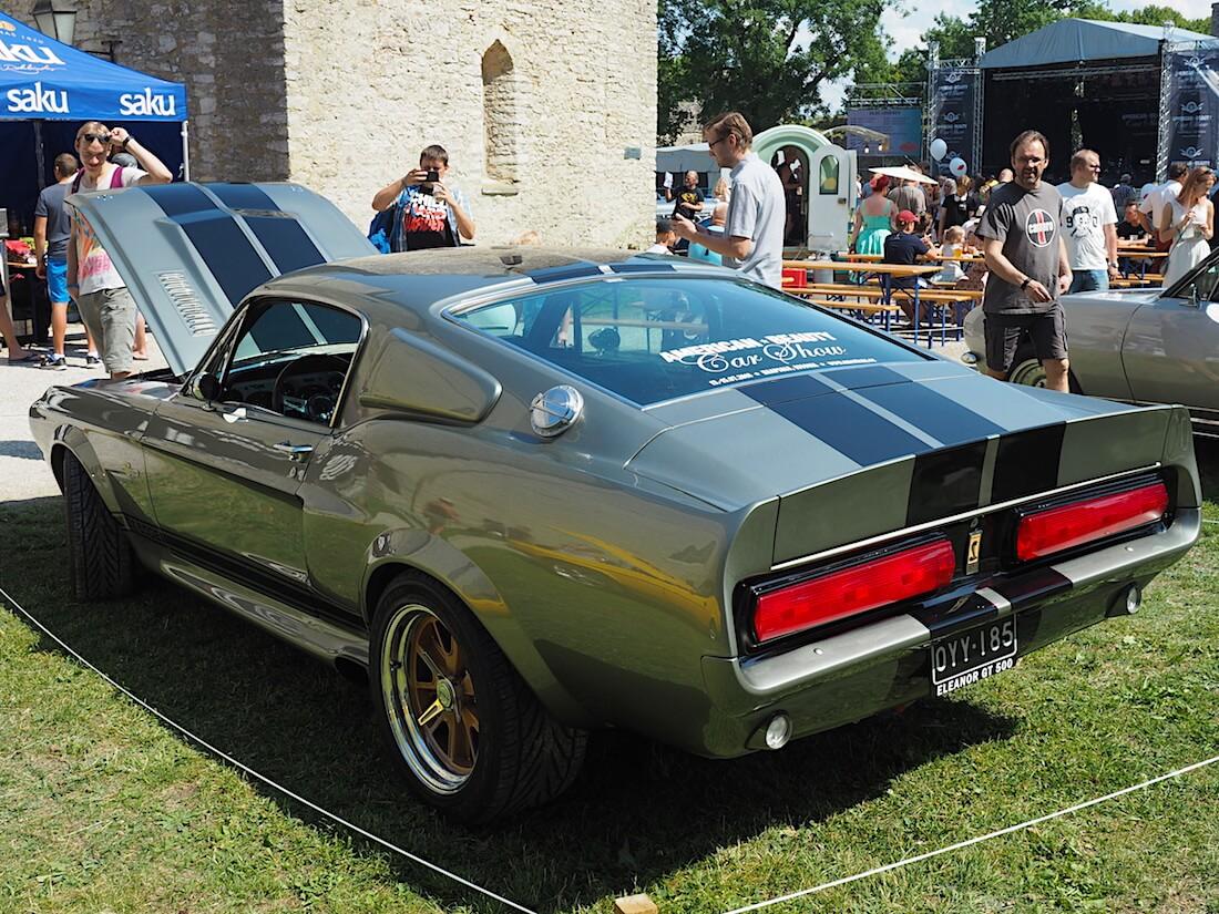 1967 Ford Mustang Shelby GT500 Eleanor. Tekijä: Kai Lappalainen, lisenssi: CC-BY-40.
