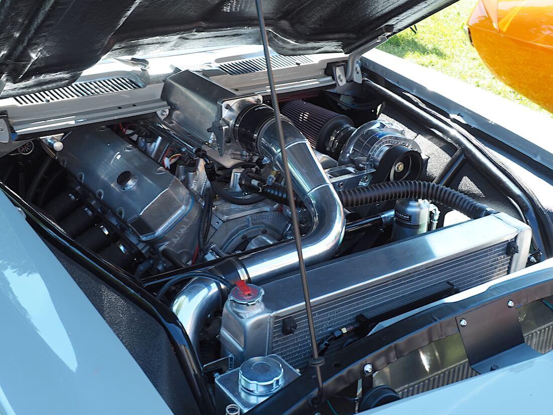 Mika Salon 1969 Chevrolet Camaron 540cid BBC V8-moottori.Tekijä: Kai Lappalainen, lisenssi: CC-BY-40.