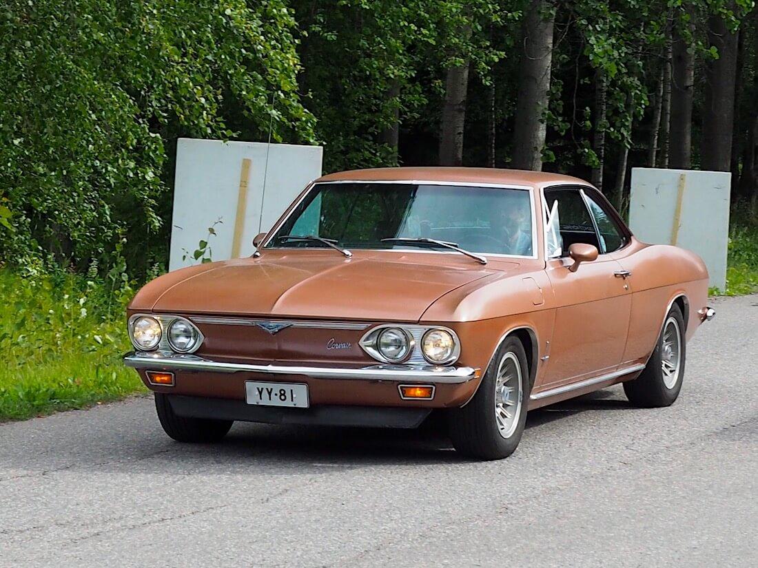 1969 Chevrolet Corvair. Tekijä: Kai Lappalainen, lisenssi: CC-BY-40.