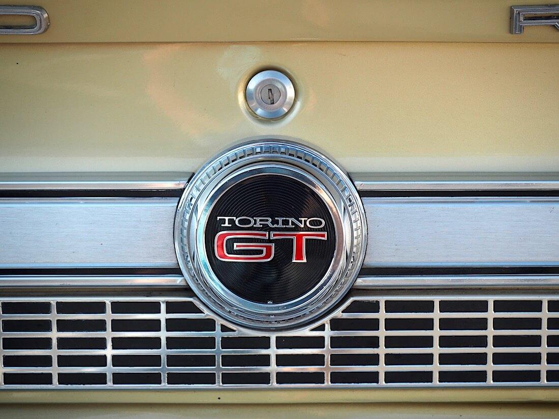 Ford Torino GT Fastbackin logo. Tekijä: Kai Lappalainen. Lisenssi: CC-BY-40.
