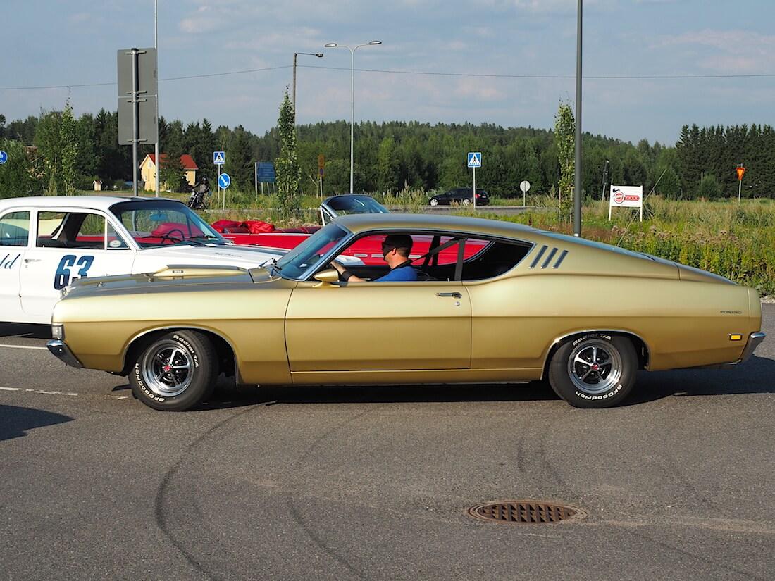 1969 Ford Torino GT Sportsroof. Tekijä: Kai Lappalainen. Lisenssi: CC-BY-40.