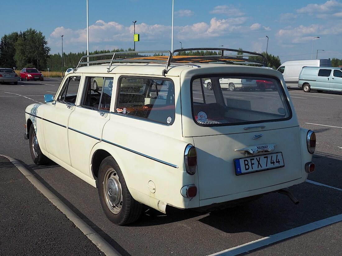 1969 Volvo 221341 S Amazon farmari. Tekijä: Kai Lappalainen. Lisenssi: CC-BY-40.