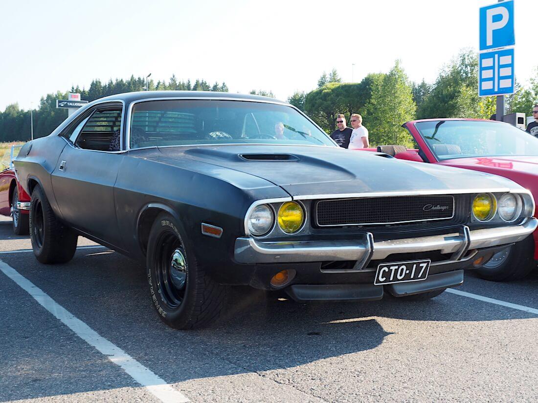 1970 Dodge Challenger 340cid V8. Tekijä: Kai Lappalainen. Lisenssi: CC-BY-40.