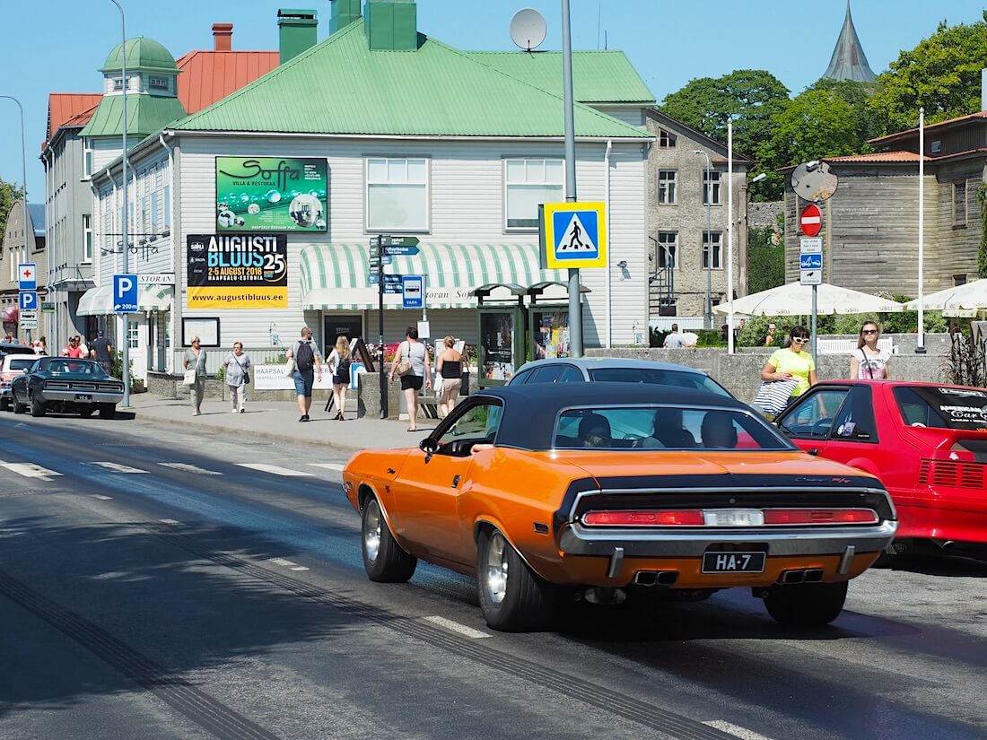 1970 Dodge Challenger 440cid Magnum. Tekijä: Kai Lappalainen, lisenssi: CC-BY-40.