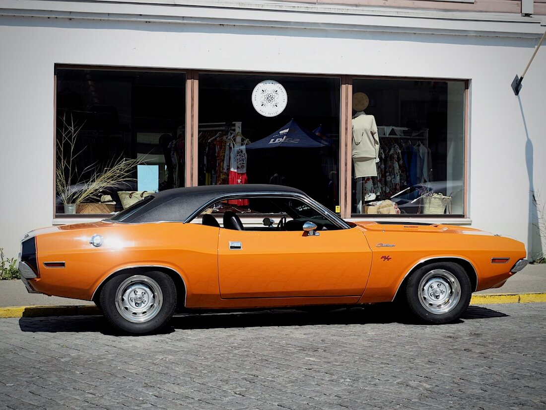 1970 Dodge Challenger R/T. Tekijä: Kai Lappalainen, lisenssi: CC-BY-40.