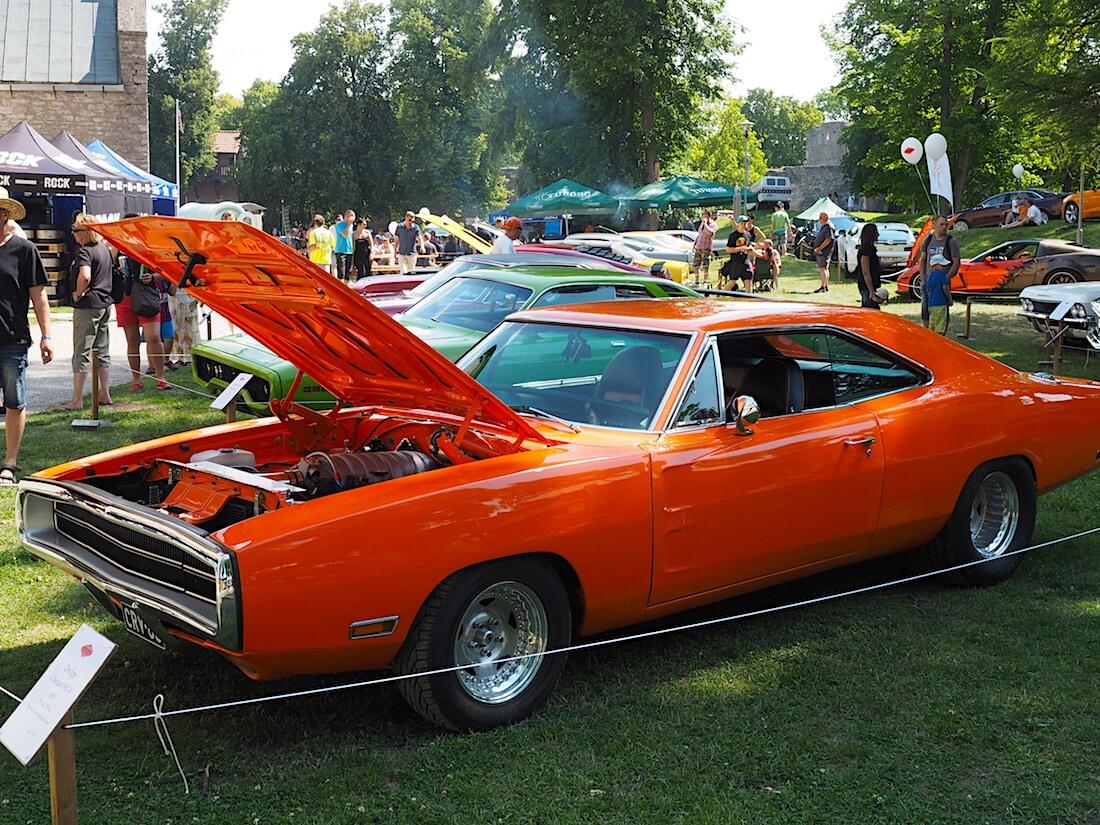 1970 Dodge Charger tuoreemmalla SRT8-tekniikalla.. Tekijä: Kai Lappalainen, lisenssi: CC-BY-40.