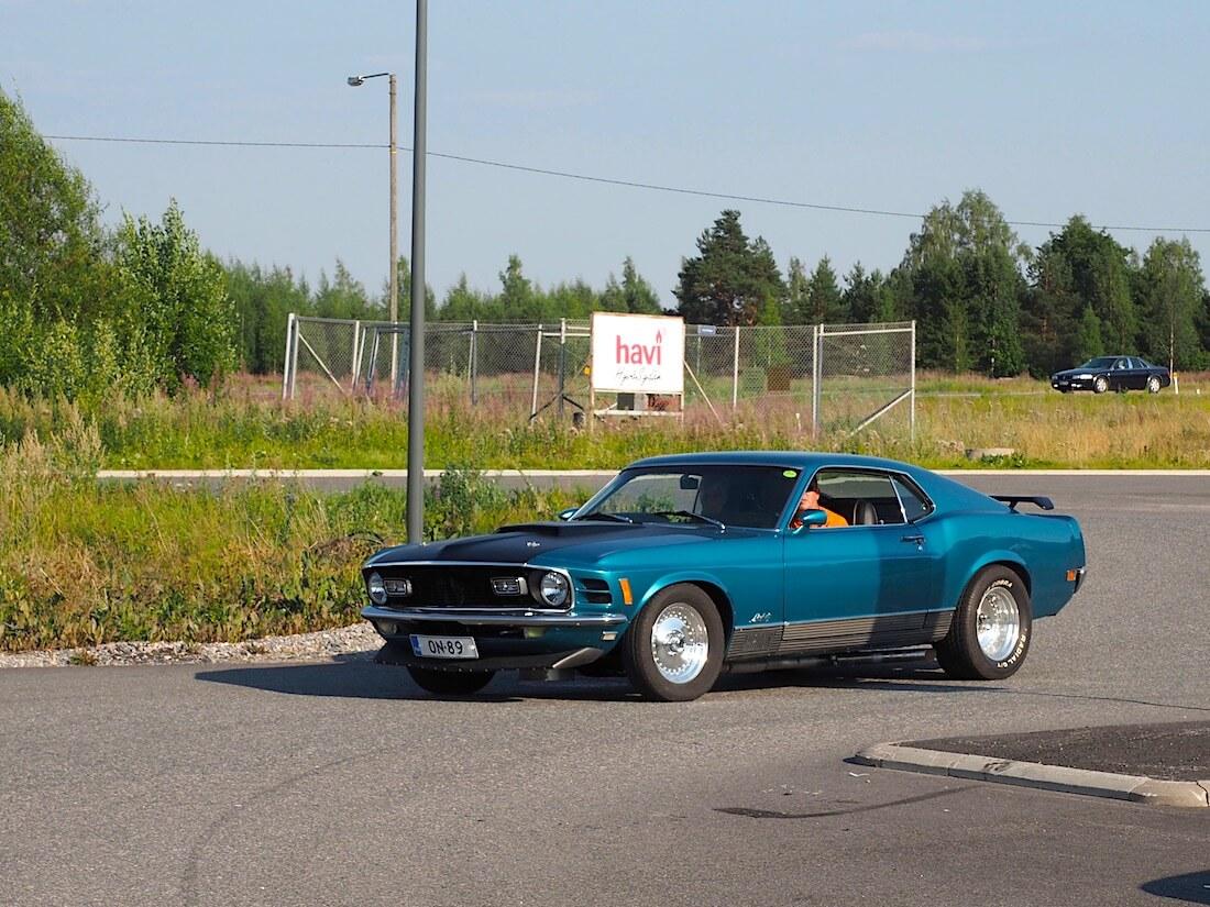1970 Ford Mustang Sportsroof. Tekijä: Kai Lappalainen. Lisenssi: CC-BY-40.