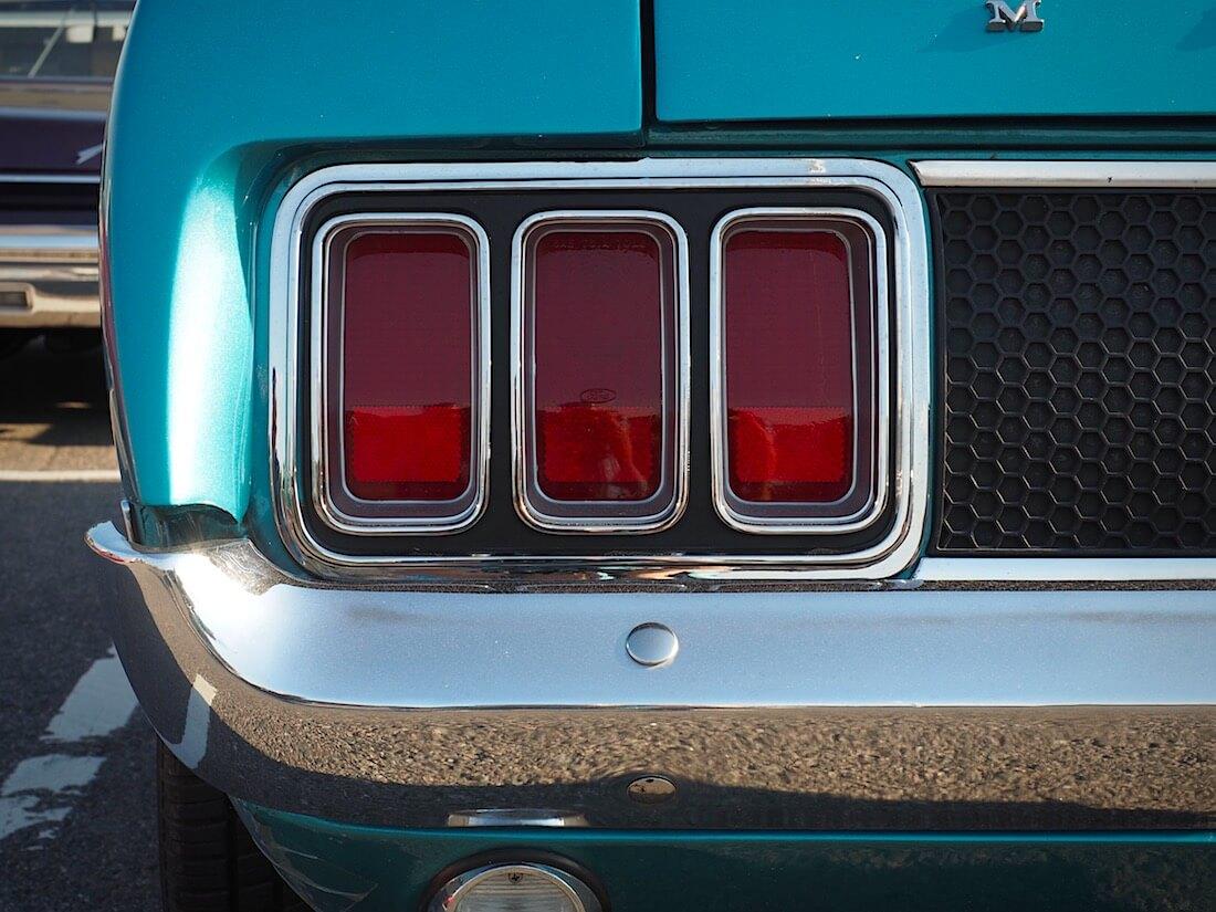 1970 Ford Mustang Sportsroofin takavalot. Tekijä: Kai Lappalainen. Lisenssi: CC-BY-40.
