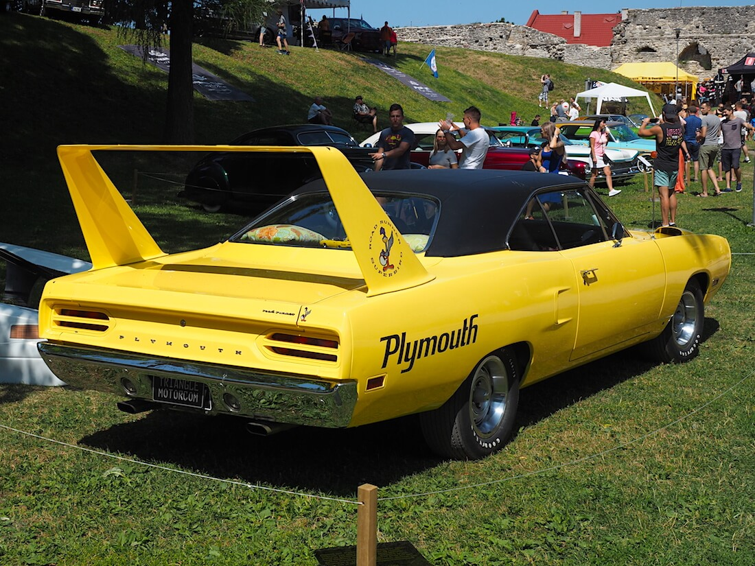 1970 Plymouth Road Runner Superbird American Beauty 2018. Tekijä: Kai Lappalainen, lisenssi: CC-BY-40.