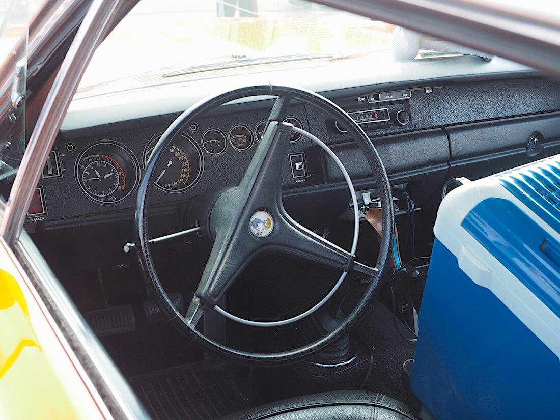 1970 Plymouth Road Runner Superbird kojelauta. Tekijä: Kai Lappalainen, lisenssi: CC-BY-40.