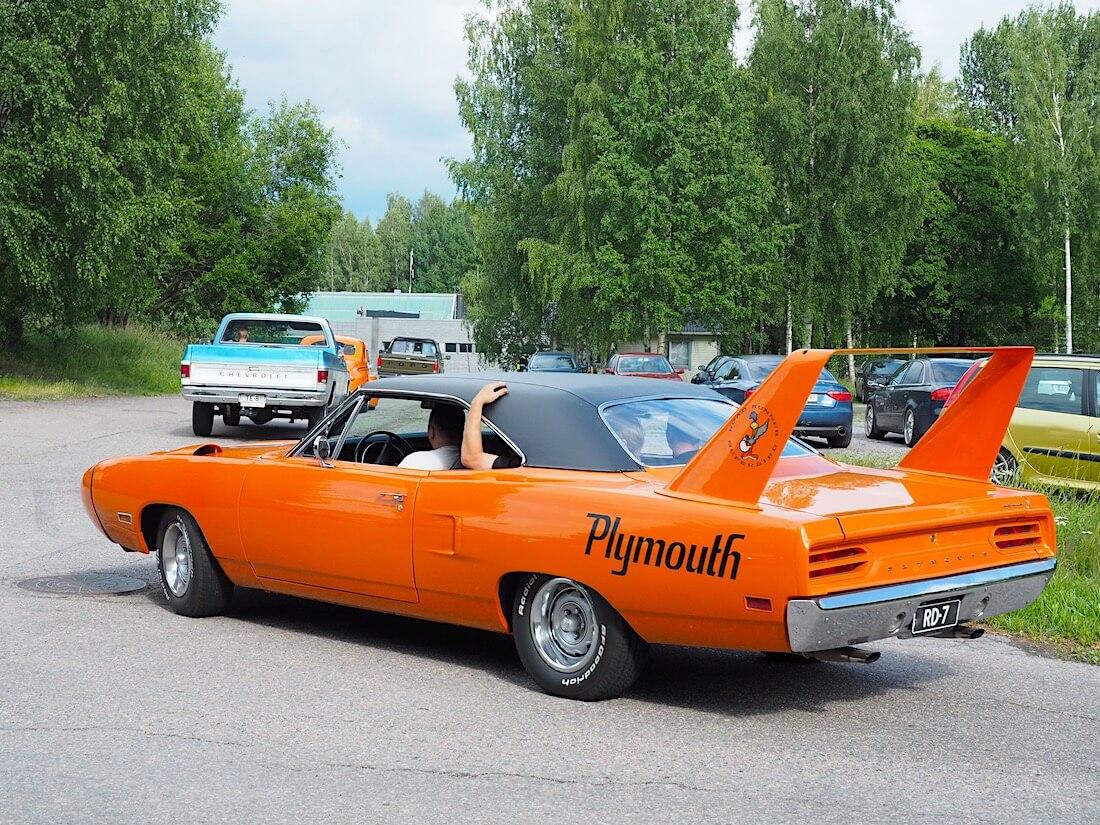 1970 Plymouth Road Runner Superbird. Tekijä: Kai Lappalainen, lisenssi: CC-BY-40.