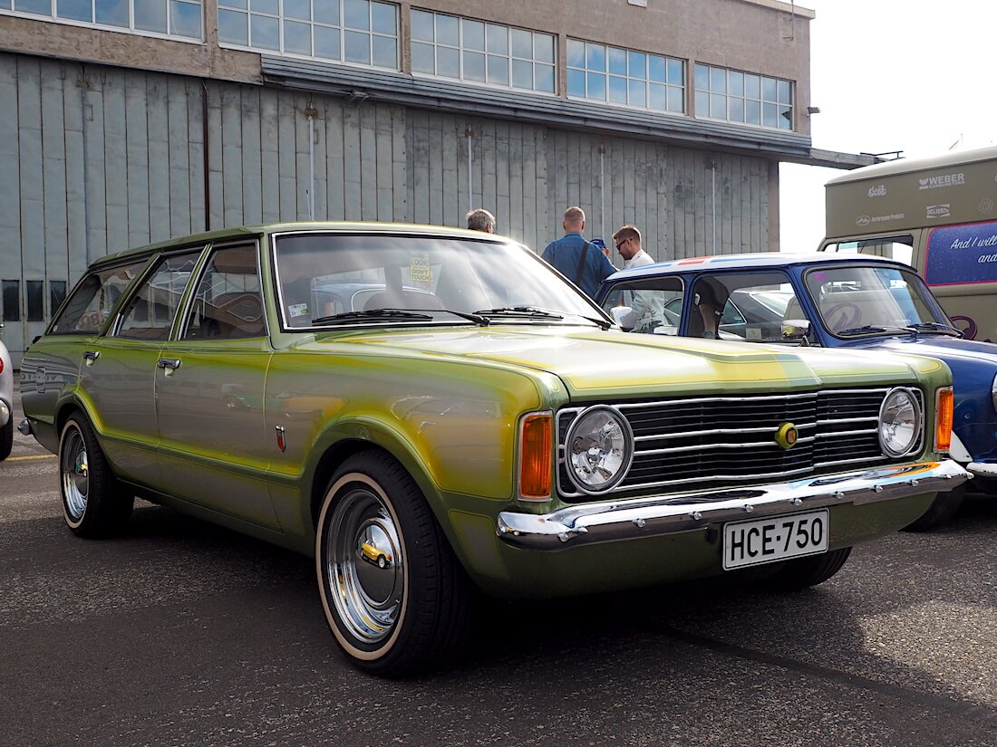 1974 Ford Taunus L STW 1600 custom. Tekijä: Kai Lappalainen, lisenssi: CC-BY-40.