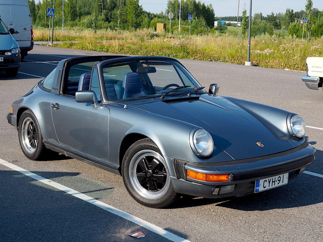 1984 Porsche 911 Targa. Tekijä: Kai Lappalainen. Lisenssi: CC-BY-40.
