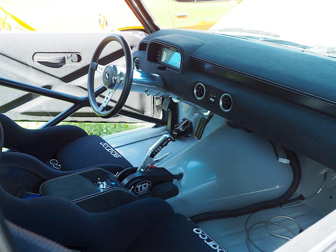 1969 Camaro Mika Salo sisusta ja kojelauta. Tekijä: Kai Lappalainen, lisenssi: CC-BY-40.