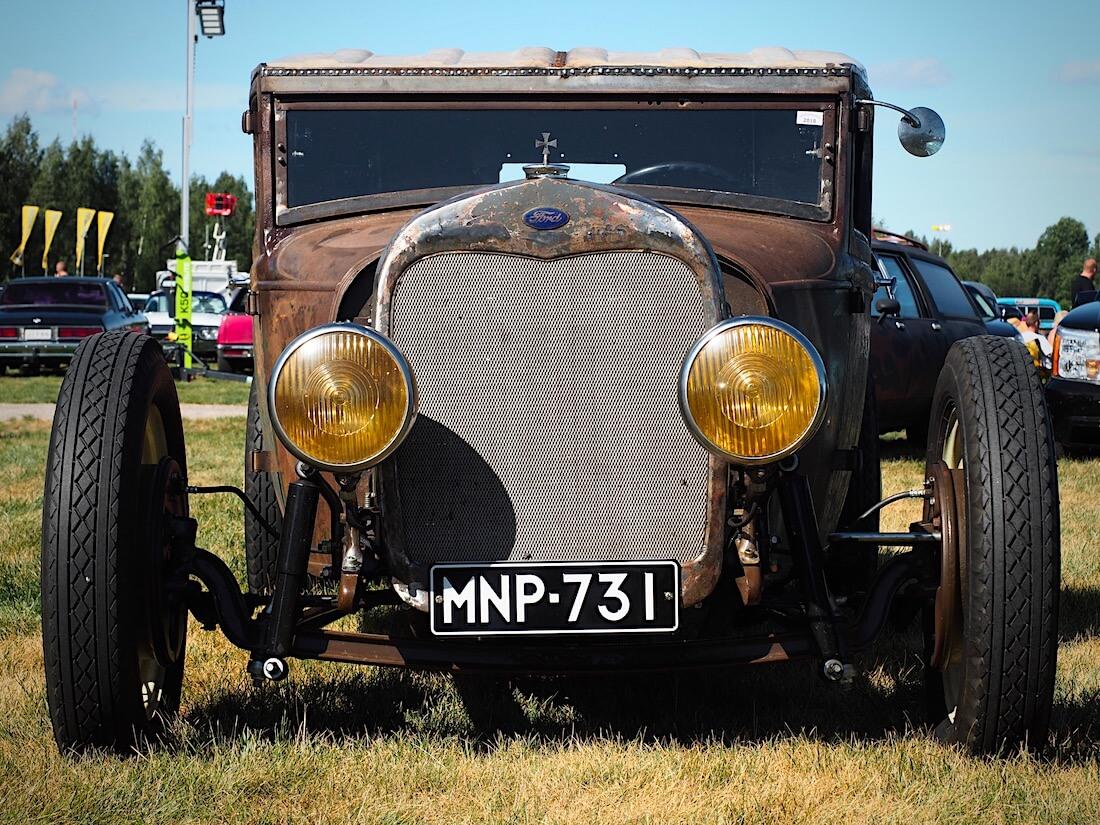 1928 Ford A Pickup ratrod rottarodi. Kuvan tekijä: Kai Lappalainen. Lisenssi: CC-BY-40.