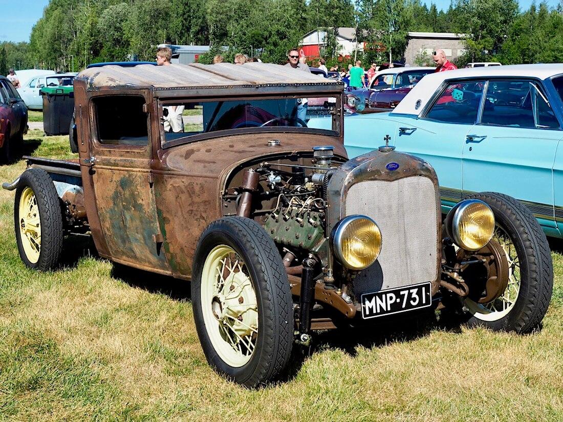 1928 Ford Model A ratrod rottarodi. Kuvan tekijä: Kai Lappalainen. Lisenssi: CC-BY-40.