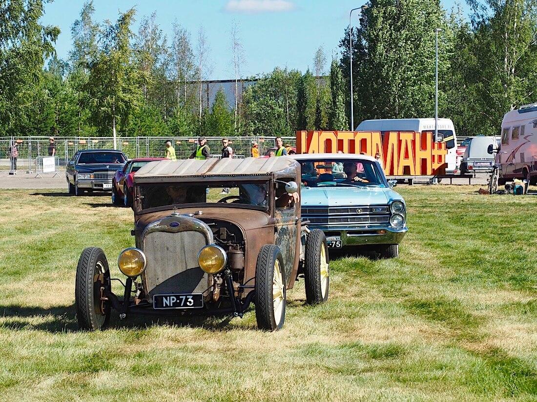 1928 Ford Model A Pickup ratrod. Kuvan tekijä: Kai Lappalainen. Lisenssi: CC-BY-40.
