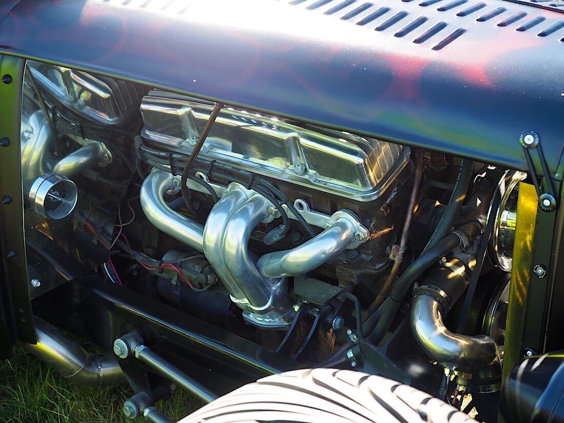 1928 Hudson Essex rodin 262cid V8-moottori. Kuvan tekijä: Kai Lappalainen. Lisenssi: CC-BY-40.
