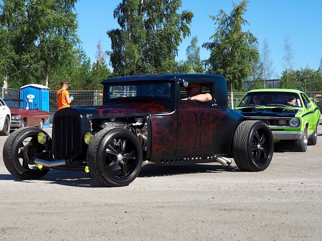1928 Hudson Essex Standard Coupe rodi. Kuvan tekijä: Kai Lappalainen. Lisenssi: CC-BY-40.