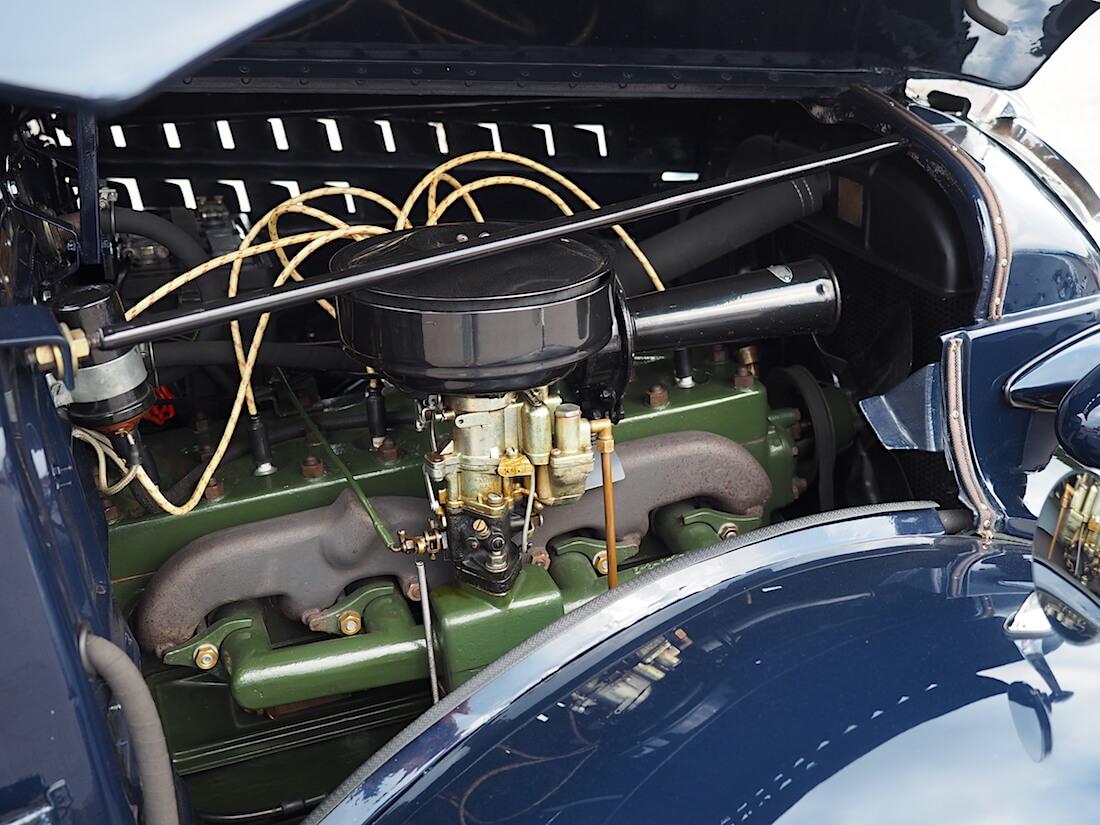 1938 Volvo PV51 3,7 litrainen Penta-moottori 84hv. Tekijä: Kai Lappalainen. Lisenssi: CC-BY-40.