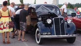 1938 Volvo PV51 Tekijä: Kai Lappalainen. Lisenssi: CC-BY-40.