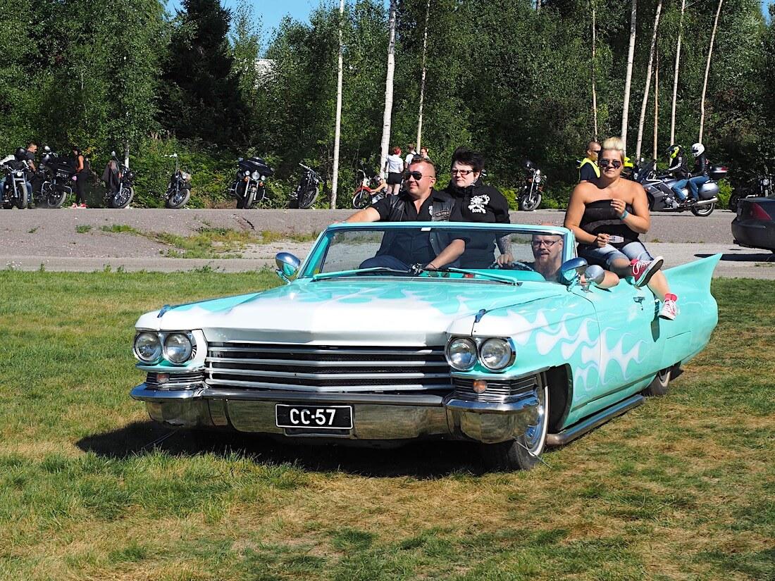 1963 Cadillac Series 62 Custom Convertible. Kuvan tekijä: Kai Lappalainen. Lisenssi: CC-BY-40.