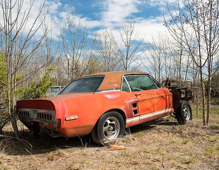 1967 Shelby GT500 EXP hardtop coupe Little red. Kuva ja copyright: Barrett-Jackson press release.