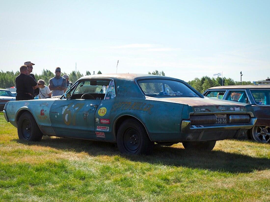1967 Mercury Cougar 2d Hardtop rotta-look. Kuvan tekijä: Kai Lappalainen. Lisenssi: CC-BY-40.