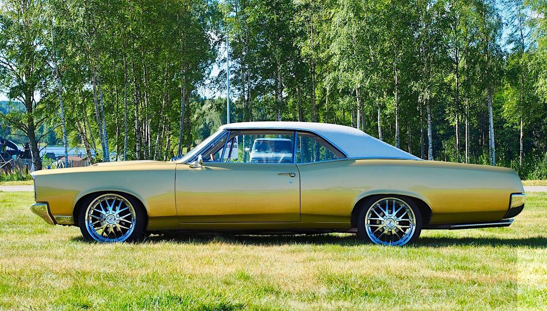 1967 Pontiac GTO. Kuvan tekijä: Kai Lappalainen. Lisenssi: CC-BY-40.