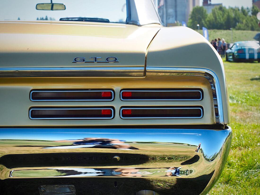 1967 Pontiac GTO takavalo. Kuvan tekijä: Kai Lappalainen. Lisenssi: CC-BY-40.