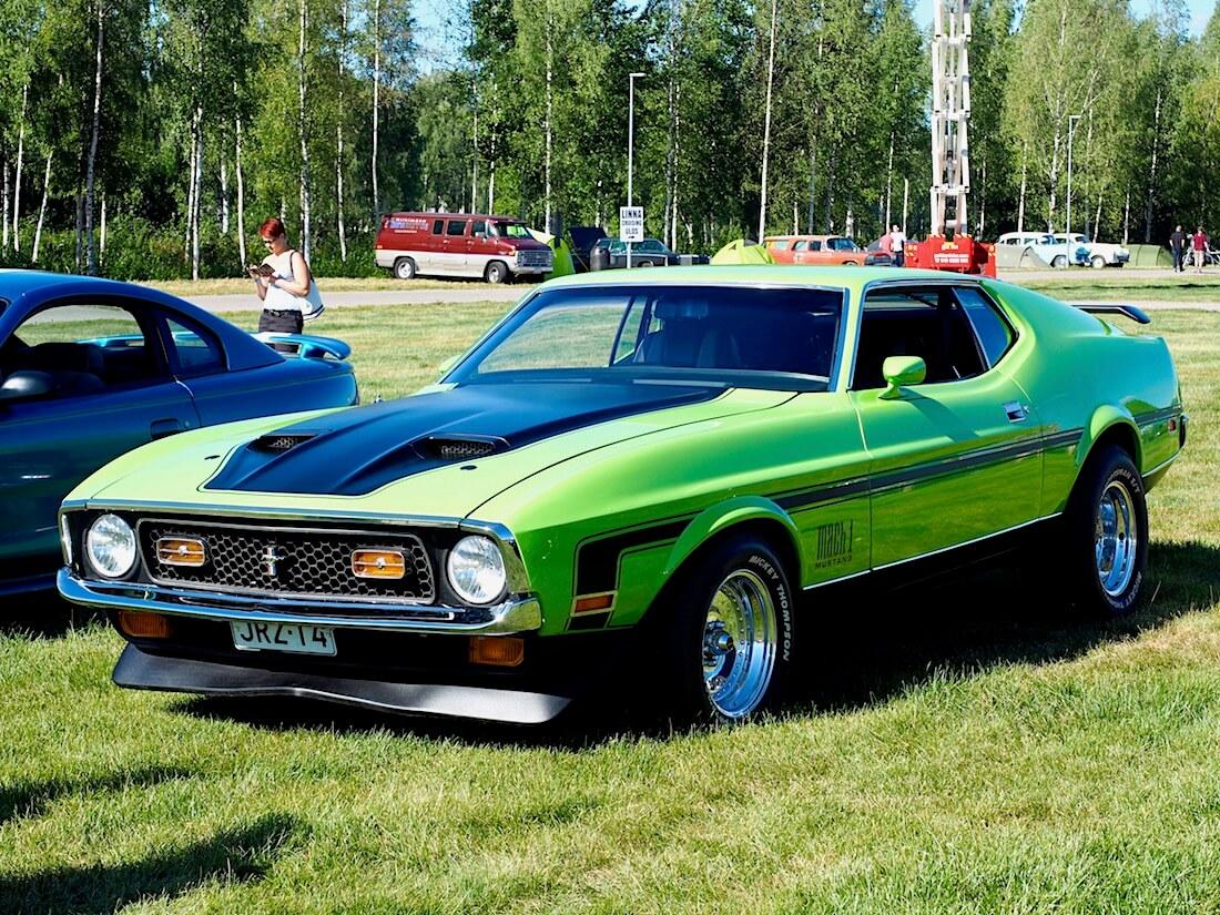 1971 Ford Mustang Mach 1 Sportsroof. Kuvan tekijä: Kai Lappalainen. Lisenssi: CC-BY-40.