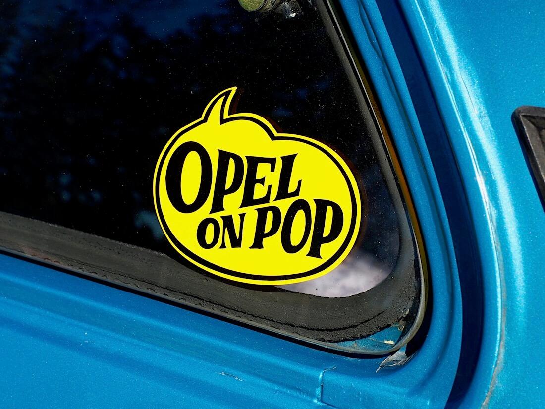 Opel on pop tarra. Kuvan tekijä: Kai Lappalainen. Lisenssi: CC-BY-40.