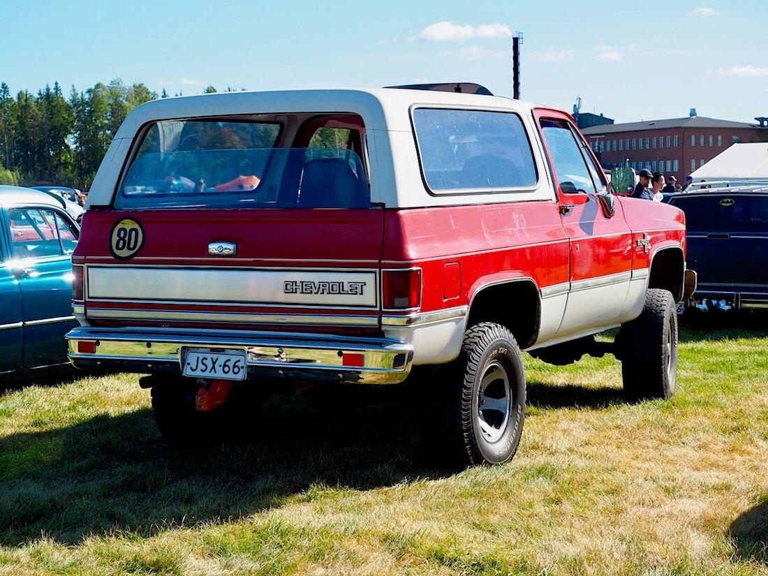 1978 Chevrolet K5 Blazer 4x4 400cid diesel-V8. Kuvan tekijä: Kai Lappalainen. Lisenssi: CC-BY-40.
