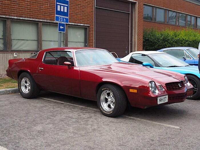 1979 Chevrolet Camaro 350cid Sport Coupe. Kuvan tekijä: Kai Lappalainen. Lisenssi: CC-BY-40.