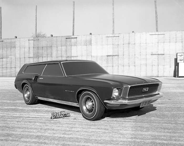 Ford Mustang Wagon farmarimallin prototyyppi. Kuvan copyright: Ford Motor Company.
