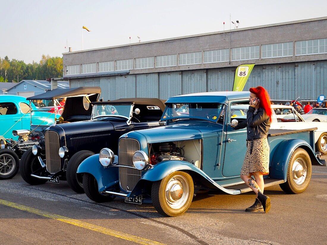 1932 Ford B Pickup Rodi 232cid V8. Tekijä: Kai Lappalainen. Lisenssi: CC-BY-40.