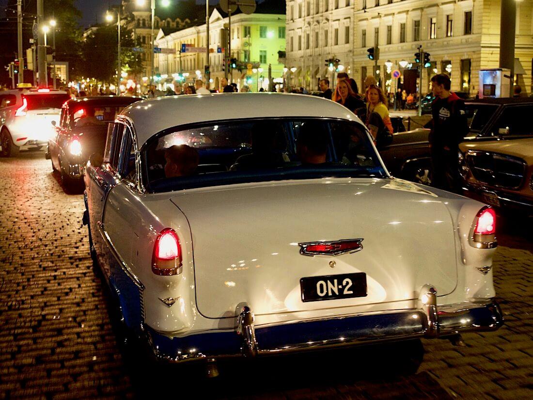 1955 Chevrolet 210 Two-Ten 350cid V8. Tekijä: Kai Lappalainen. Lisenssi: CC-BY-40.