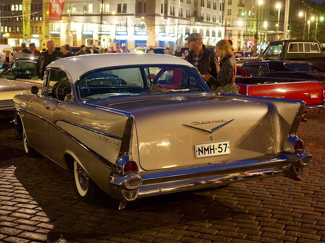 1957 Chevrolet Bel Air 2d hardtop 283cid V8. Tekijä: Kai Lappalainen. Lisenssi: CC-BY-40.