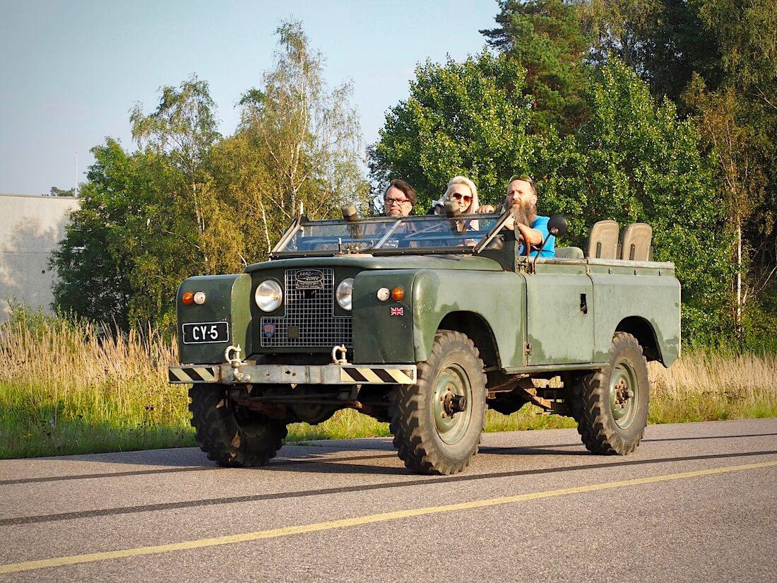 1964 Land Rover Series IIA 88. Tekijä: Kai Lappalainen. Lisenssi: CC-BY-40.