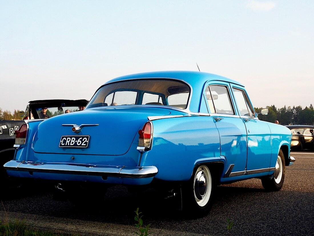 1964 Volga GAZ21 takaa. Tekijä: Kai Lappalainen. Lisenssi: CC-BY-40.