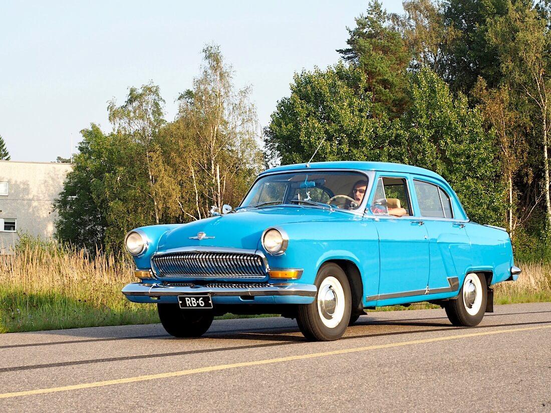 1964 Volga GAZ21 tuontiauto Venäjältä. Tekijä: Kai Lappalainen. Lisenssi: CC-BY-40.