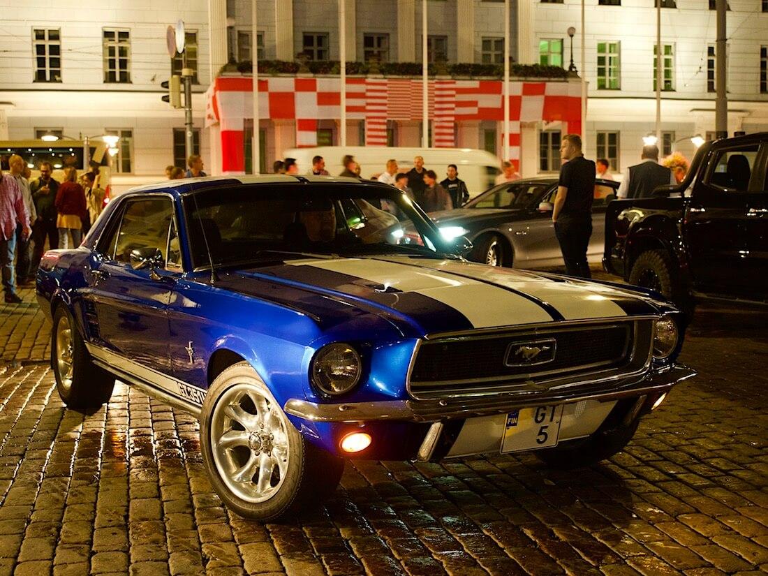 1967 Ford Mustang GT 351cid V8. Tekijä: Kai Lappalainen. Lisenssi: CC-BY-40.